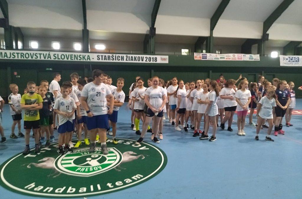 Turnaj minihádzaná – 19.6.2021, Prešov